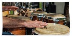 Bongo Hand Drums Beach Sheet