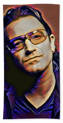 Bono Beach Towel by Gary Grayson