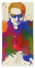 Bono Watercolor Beach Towel