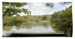 Bonsai Lake Beach Towel