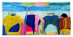 Book Club Of Four Beach Towel