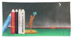 Books Of Knowledge Beach Towel