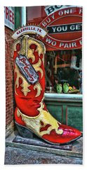 Boot Country - Nashville Beach Towel