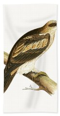 Booted Eagle Beach Towel by English School