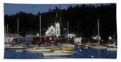 Boothbay Harbor Maine 2 Beach Sheet
