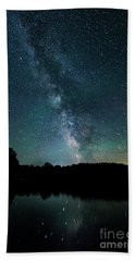 Boothbay Milky Way Beach Towel by Patrick Fennell