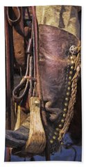 Boots Of A Drover 2015 Beach Towel