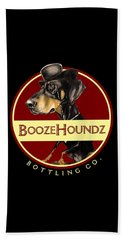 Boozehoundz Bottling Co. Beach Towel