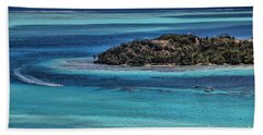 Bora Bora Beach Sheet by Shirley Mangini