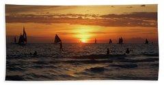 Boracay Sunset Beach Towel