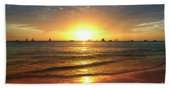 boracay,Philippians 4 Beach Towel by Mark Ashkenazi