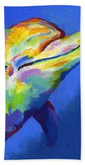 Born To Live Wild II Beach Towel by Stephen Anderson