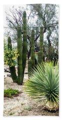 Borrego Botanical Garden Beach Towel