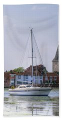 Bosham Calm Beach Sheet by Hazy Apple