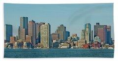 Boston Architecture Beach Towel