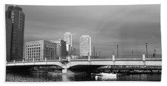 Boston Bridge Beach Towel