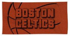 Boston Celtics Leather Art Beach Towel