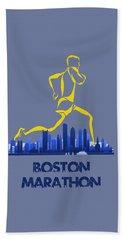 Boston Marathon5 Beach Towel