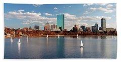 Boston On The Charles  Beach Towel