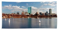 Boston On The Charles  Beach Towel