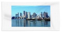 Boston Reflected Beach Towel