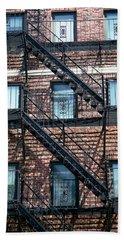 Boston Stairs Beach Sheet