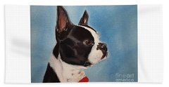 Boston Terrier Beach Sheet