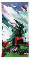 Bostwick Barn  Beach Towel