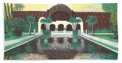 Botanical Building In Balboa Park 01 Beach Sheet