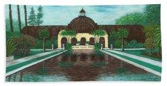 Botanical Building In Balboa Park 02 Beach Sheet