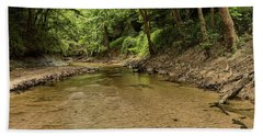 Bottle Creek Beach Towel