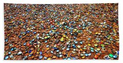 Bottlecap Alley Beach Sheet