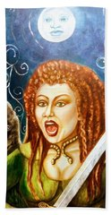 Boudicca  Let Not Our Daughters Be Forgotten Beach Towel