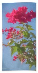 Bougainvillea Morning Beach Towel