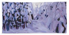 Boughs Before The Wind Beach Towel