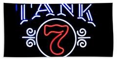 Boulevard Tank 7 Beach Towel by Kelly Awad