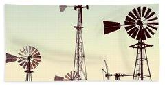 Bountiful Windmills Beach Sheet