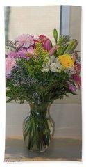Bouquet Of Flowers Beach Sheet