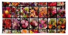 Bouquets Beach Sheet