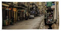 Bourbon Street By Day Beach Towel