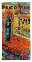 Boutique De Vins Francais 4 Beach Towel