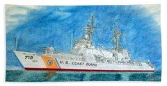 Boutwell-u.s.coast Guard 719 Beach Towel