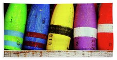 Buoy Color Beach Sheet