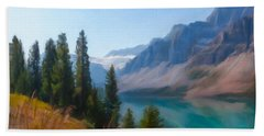 Bow Lake Beach Towel