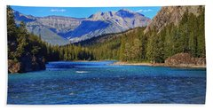 Bow River Beach Sheet by Heather Vopni