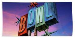 Bowling Americana Beach Towel