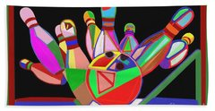 Bowling Sports Fans Decoration Acrylic Fineart By Navinjoshi At Fineartamerica.com  Down Load  Jpg F Beach Sheet