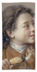 Boy With A Carrot, 1738 Beach Towel