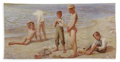 Boys Bathing Beach Towel