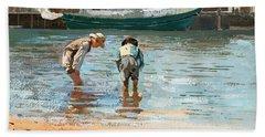 Boys Wading Beach Sheet
